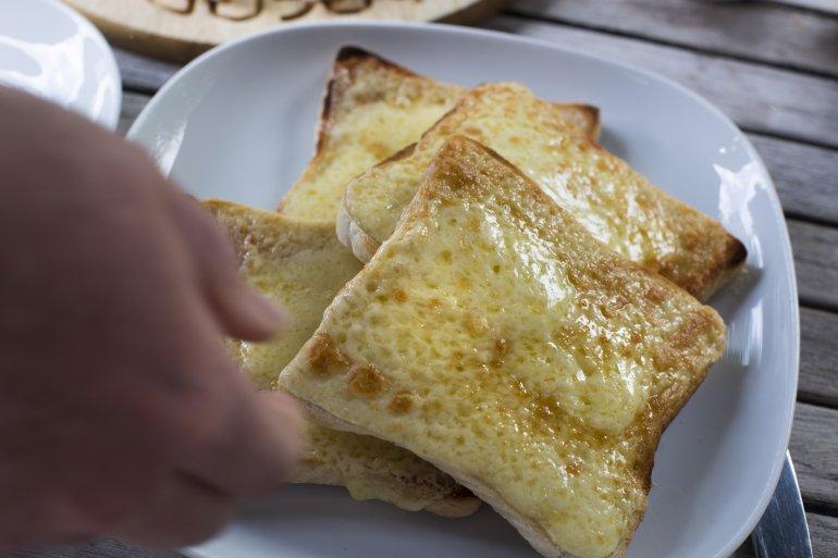 pan de queso sin harina