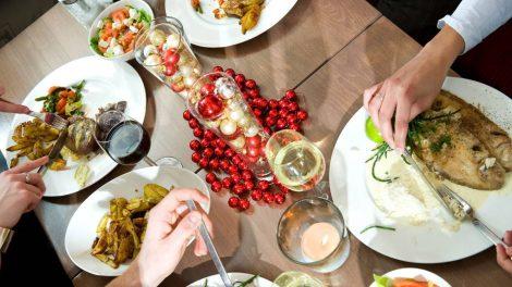 comer sano en las fiestas